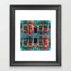 tether vent arena Belt. Framed Art Print