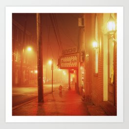 Old Ellicott City, MD Art Print