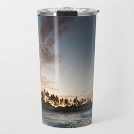 Sunrise at Poipu beach in Kauai, Hawaii Travel Mug