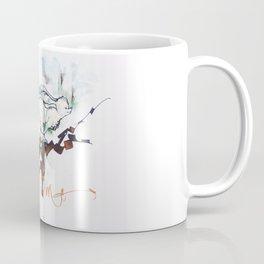 Who wants to follow the magic white rabbit ? Coffee Mug