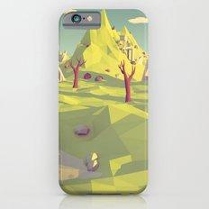 Polygon Landscape iPhone 6s Slim Case