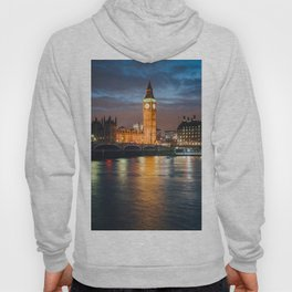 London after sunset Hoody