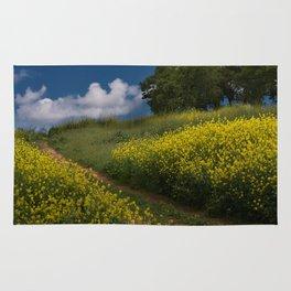 Almaden Meadows' Mustard Blossoms Rug