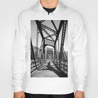 bridge Hoodies featuring Bridge by Danielle Podeszek