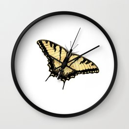 Tiger Swallowtail Butterfly Wall Clock