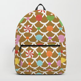 Gingerbread House Roof Backpack