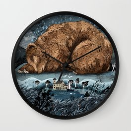 The Lake House Wall Clock