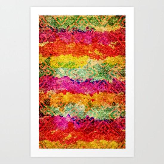 Hindu Colors Art Print
