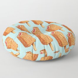 Popsicle Pattern- Strawberry Shortcake Floor Pillow