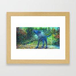 Fishtail Creek Framed Art Print