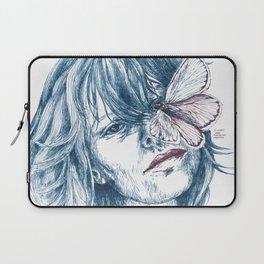 Augen-Schmetterling Laptop Sleeve