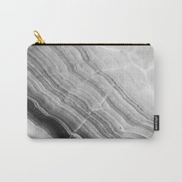 Shades of grey marble Carry-All Pouch
