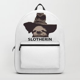 Slotherin (Slytherin + Sloth) Backpack