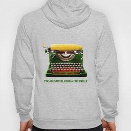 ORGANIC INVENTIONS SERIES: Vintage Smythe-Corn-A Typewriter Hoody
