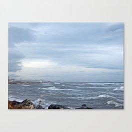 Coastal Storm Surge Canvas Print
