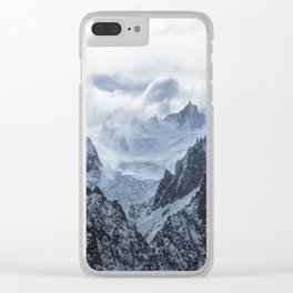 Mountains 14 Clear iPhone Case