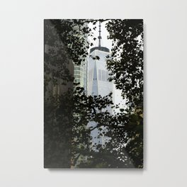 Seeing WTC1 through the Trees Metal Print