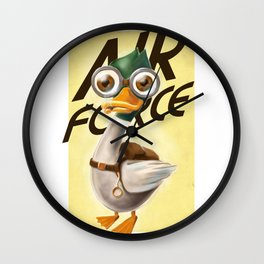 Corporal Duck Wall Clock