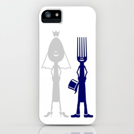 Ms Spoon & Mr Fork are getting married V6S2 iPhone Case