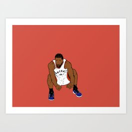 The Shot Art Print
