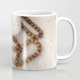 Spirituality. Tibetan mala beads. Coffee Mug