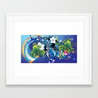 aloha Framed Art Prints featuring Aloha! by Robin Curtiss