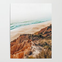 Ocean Trail #photography #travel Poster