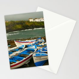 Portuguese harbour Stationery Cards