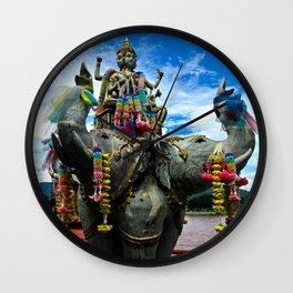 Thailand Temple Wall Clock