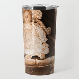 Vintage Doll Travel Mug