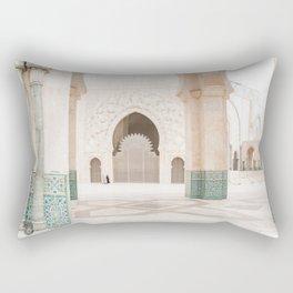 Hassan II Mosque - Casablanca II Rectangular Pillow
