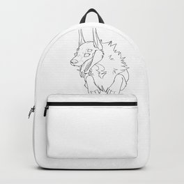 Fish Linework Backpack