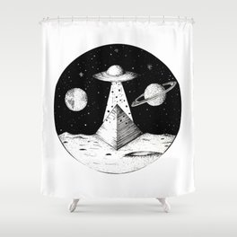 The Real Truth Shower Curtain