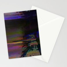 19-46-12 (Black Hole Glitch) Stationery Cards