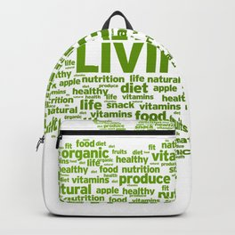 healthy living Backpack
