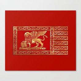 Venetian Lion Canvas Print