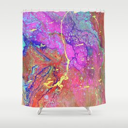 ECTOPLASM Shower Curtain