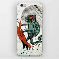 chameleon iPhone & iPod Skins featuring CHAMELEON by taniavisual