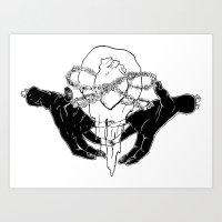 The Anatomy of Love Art Print