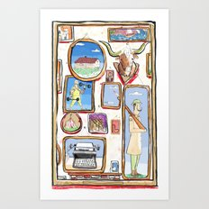 Pictures Art Print