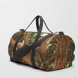 very old forest Duffle Bag