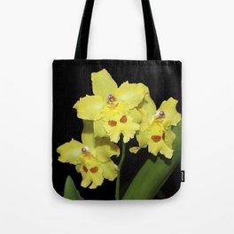 Glorious Golden Orchid - Odontonia Yellow Parade Alpine Tote Bag