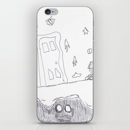 Monster Under the Bed iPhone Skin