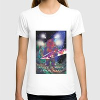 surfing T-shirts featuring surfing by jackybong629