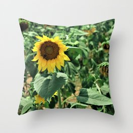 Flower No 6 Throw Pillow