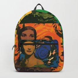 Maria Callas quartet Backpack