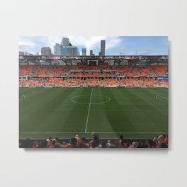 Houston Dynamo BBVA Compass Home Opener Metal Print