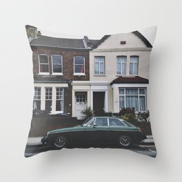 home with car Throw Pillow