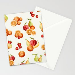 Bunches of Fruit Stationery Cards