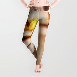 Hot sexy girl with banana us flag bra Leggings